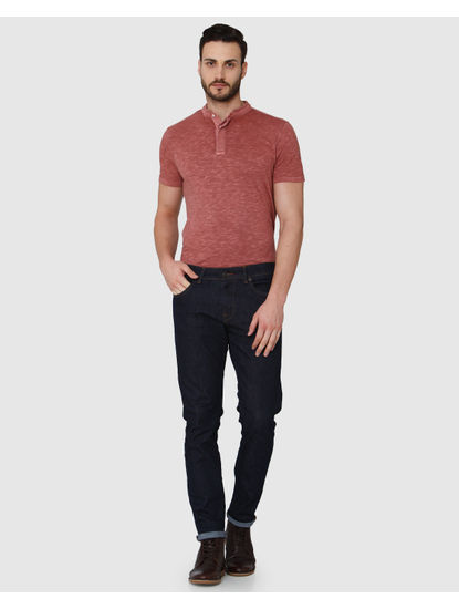 Dark Blue Scott Regular Fit Jeans