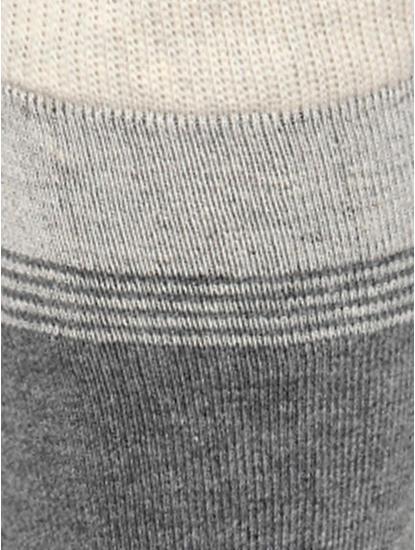Grey Mid Calf Length Socks