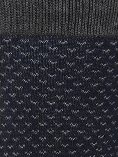 Dark Blue Mid Calf Length Socks