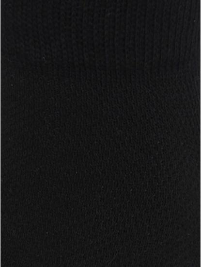 Black Pack Of Three Ankle Length Socks
