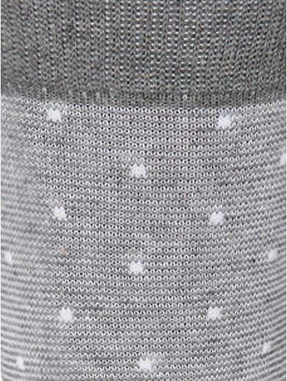Light Grey Mid Calf Length Socks
