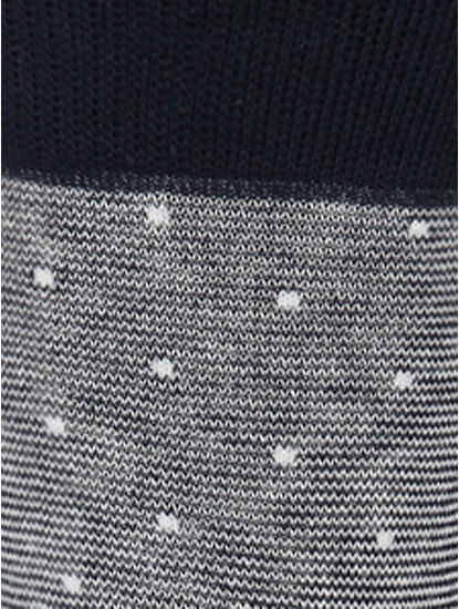 Dark Grey Mid Calf Length Socks