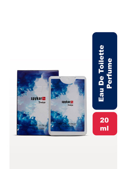 Navy Blue Pocket Perfume