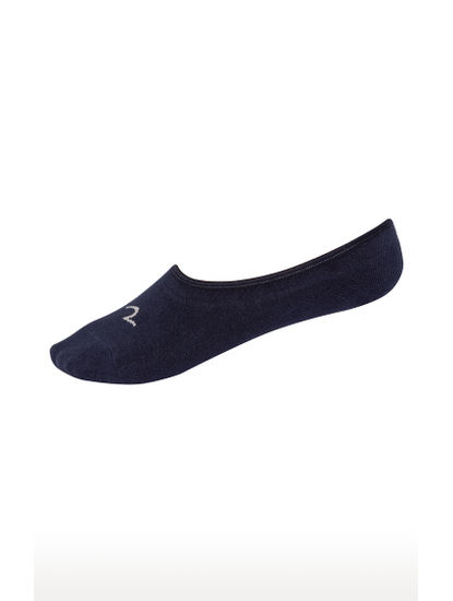 Grey and Navy Solid Socks - Pack of 2