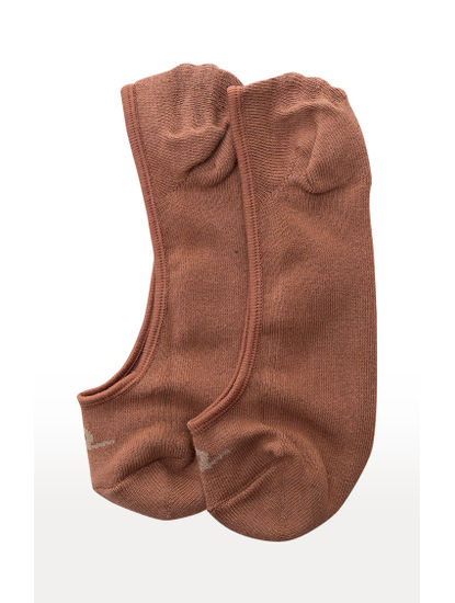 Brown and Navy Solid Socks - Pack of 2