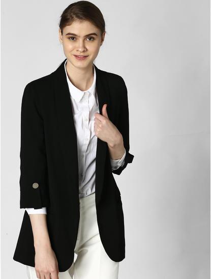 Black Tailored Blazer