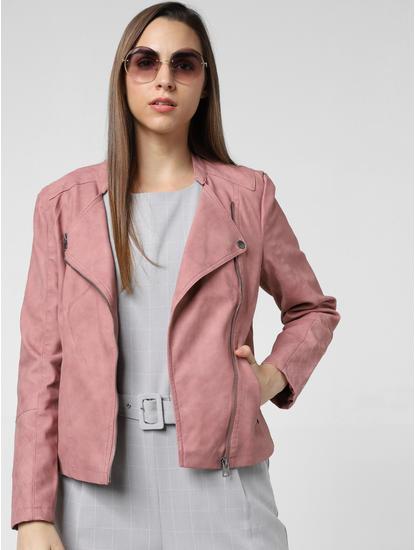 Pink Biker Jacket