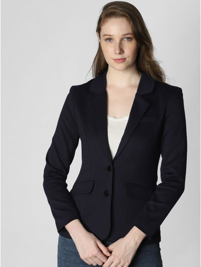 Navy Blue Formal Blazer