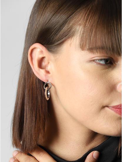 Silver Set Of 5 Earrings