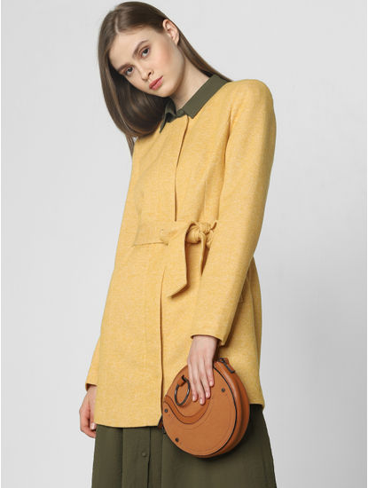 Mustard Casual Jacket