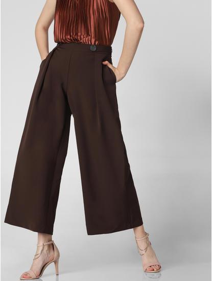 Dark Brown High Rise Culottes