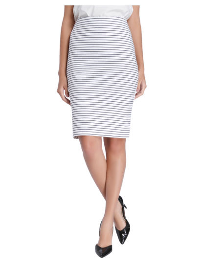 Stripe Casual Skirt