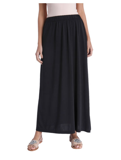Black Ankle Length Skirt