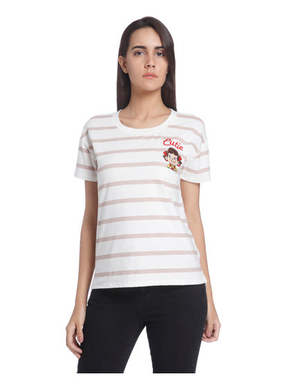 Embroidered Casual T-Shirt