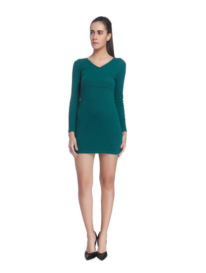 Solid Casual Mini Dresses
