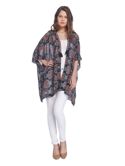 Printed Casual Shrug