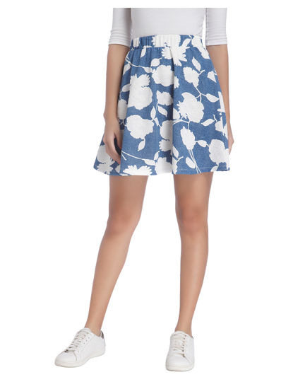 Printed Casual Skirt