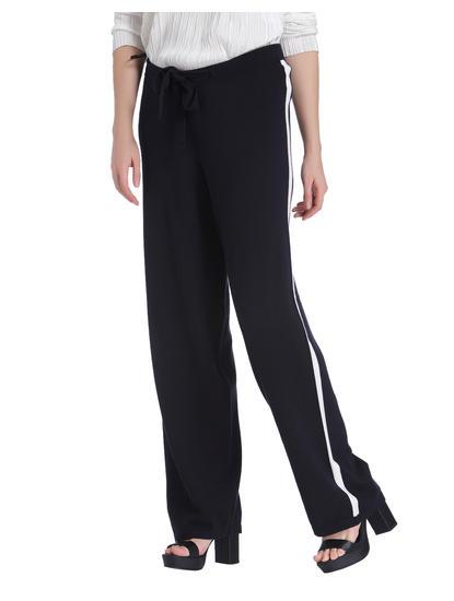 Black Tuxedo Knit Pant