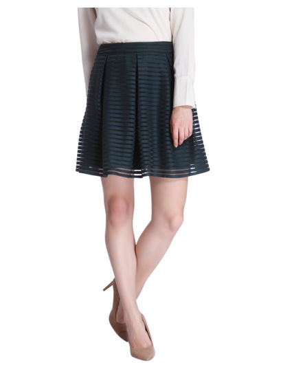 Green Admiral Mini Skirt
