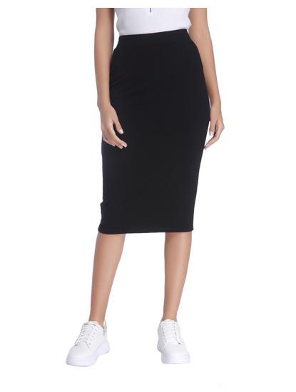 Formal Black Mini Skirt