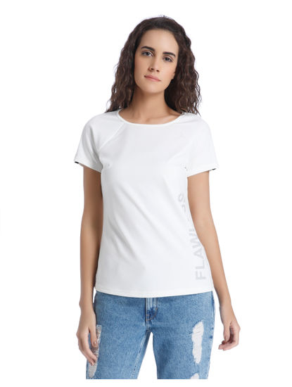 Sleeve Detail White Top