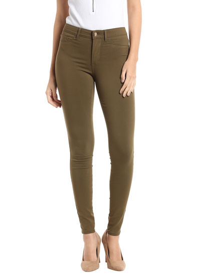 Olive Green Jeggings