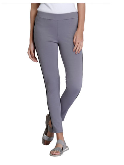 Dark Grey Slim Fit Jeggings