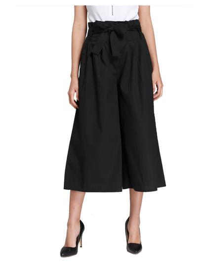 Black Wide Leg Culottes