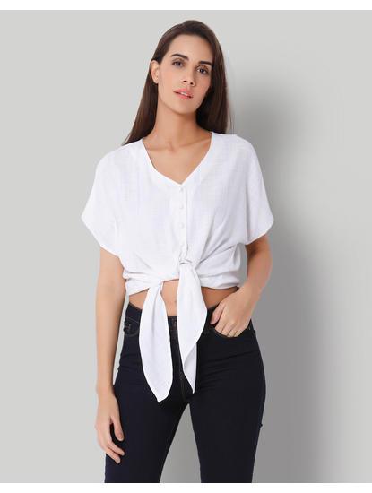 White Knot Shirt