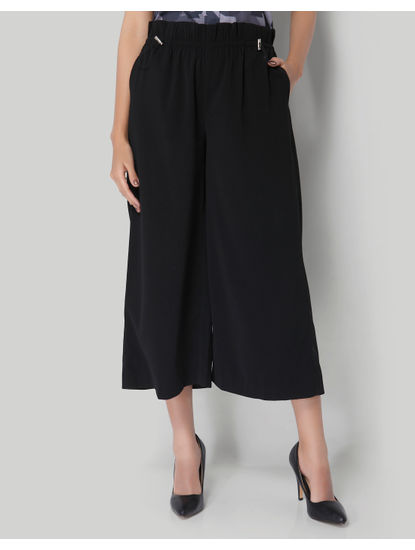 Mickey Black Culottes