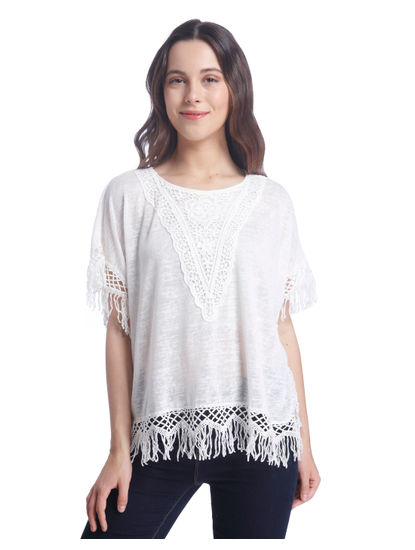 Normal lace Top, SHIPS AHOY 'LIVA'