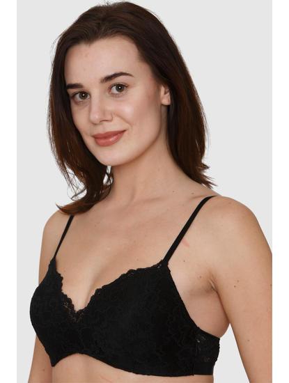 Black Lace Bralette Top