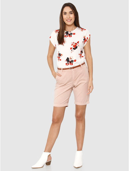Rose Mid Rise Shorts