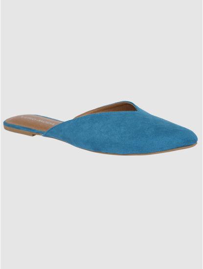 Blue Slip Ons