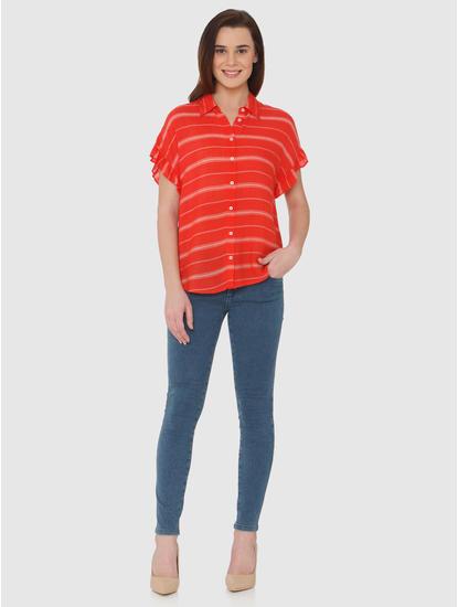 Red Striped Shirt