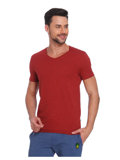 Red V-Neck T-Shirt