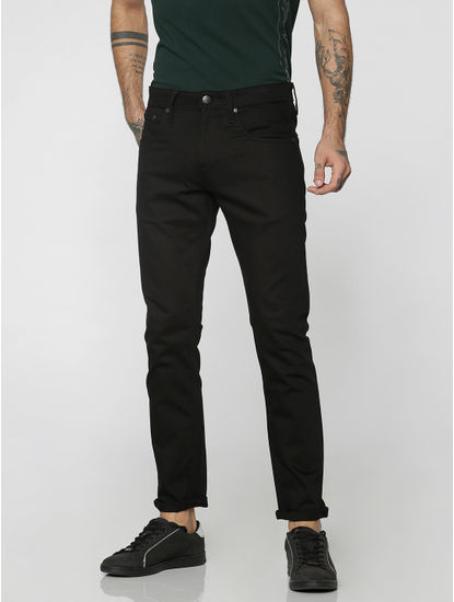 Black Glenn Slim Fit Jeans