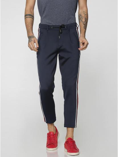 Blue Racer Striped Drawstring Pants