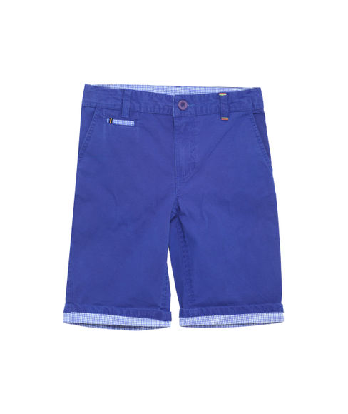 BOYS SOLID NON DENIM SHORTS