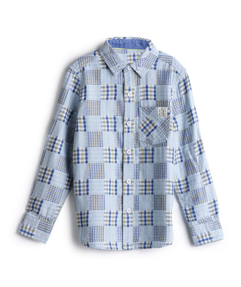 BOYS PRINTED FULLSLEEVE SHIRT