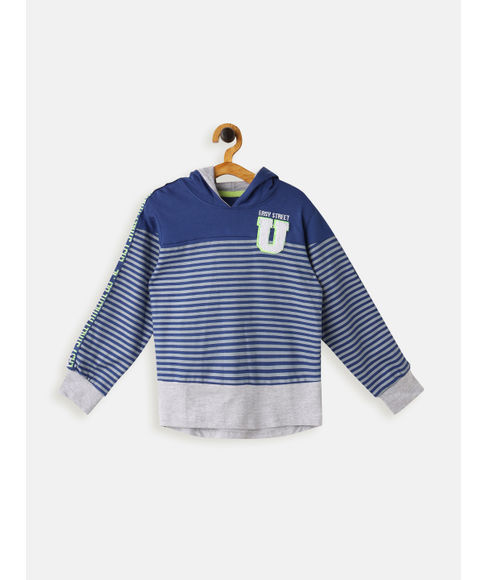 BOYS KNIT FULL SLEEVE JACKET
