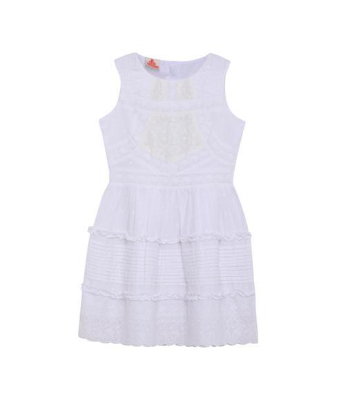 GIRLS SOLID DRESS
