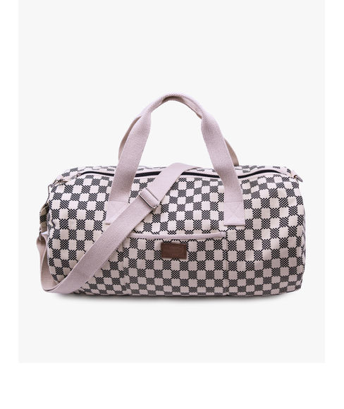 All Over Printed Canvas Duffle Bag