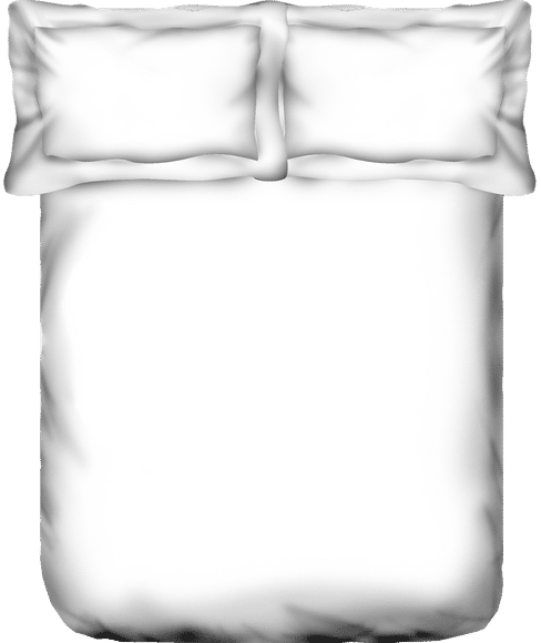 Just Us Luxury Pristine White Bedsheet Super King Size