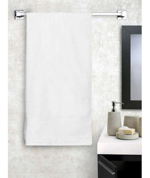 Eva White Bath Towel