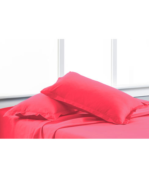 Percale Paradise Pink Pillow Cover Set