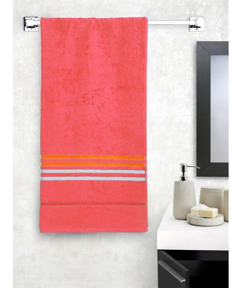 Tiara Blush Pink Bath Towel