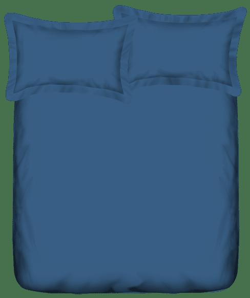 Mix Don't Match Moroccan Blue Bedsheet Super King Size