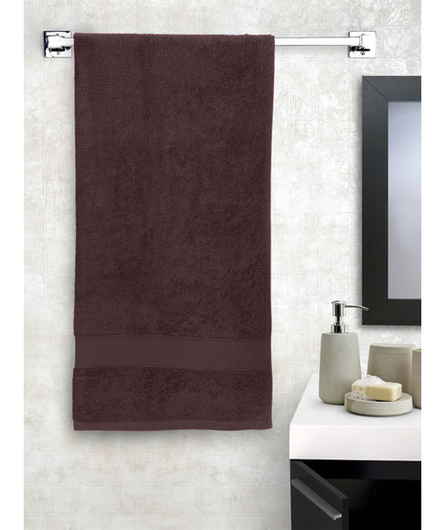 New Ultralux Chocolate Medium Towel