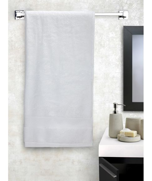 New Ultralux White Bath Towel